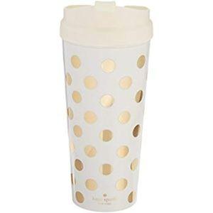 Kate Spade New York Thermal Mug - Gold Dots
